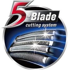 5 Blades Linear Shave