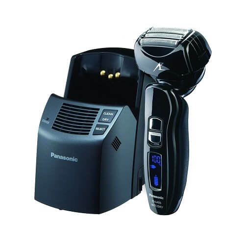 Panasonic ES-LA93-K Arc-4 Wet/Dry Shaver with stand