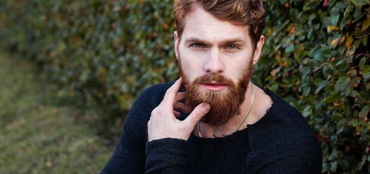 an attractive man with a hipster look