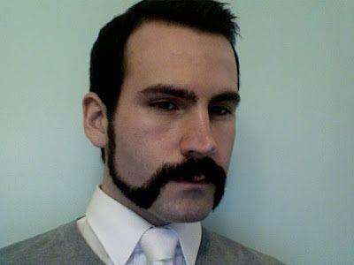 a la souvarov mustache