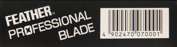 Feather professional blade logo