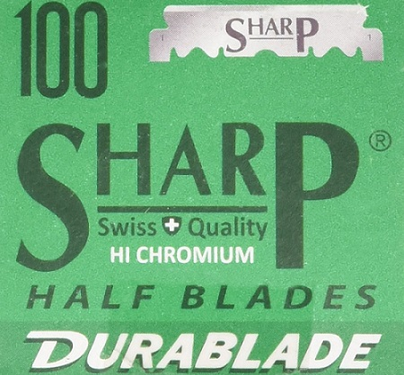 a package of SHARP blades