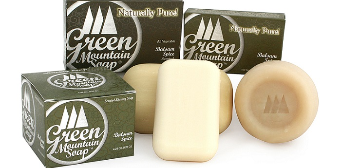 Green Mountain shaving soaps