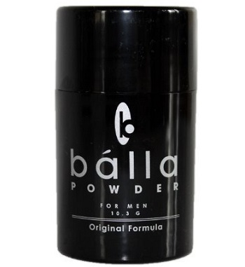 a small travel size Balla powder container