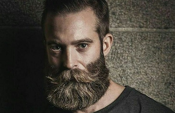 a man with a thick long beard