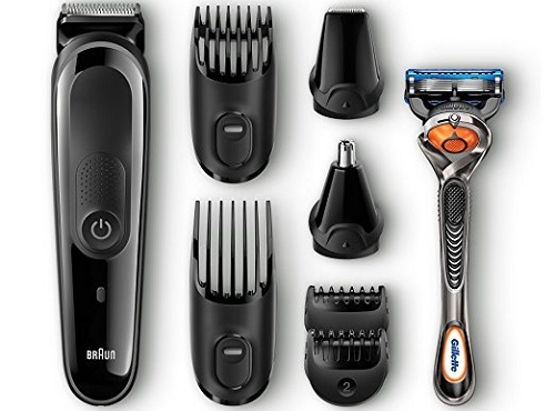 a black Braun Multi Grooming Kit MGK3060