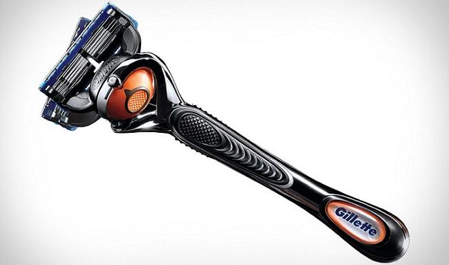 a Gillette Fusion ProGlide Flexball razor