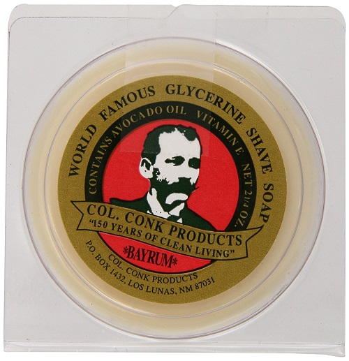 Col. Conk Worlds Famous Shaving Soap, Bay Rum