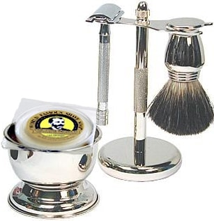 Shaving Gift Set with Merkur Safety Razor