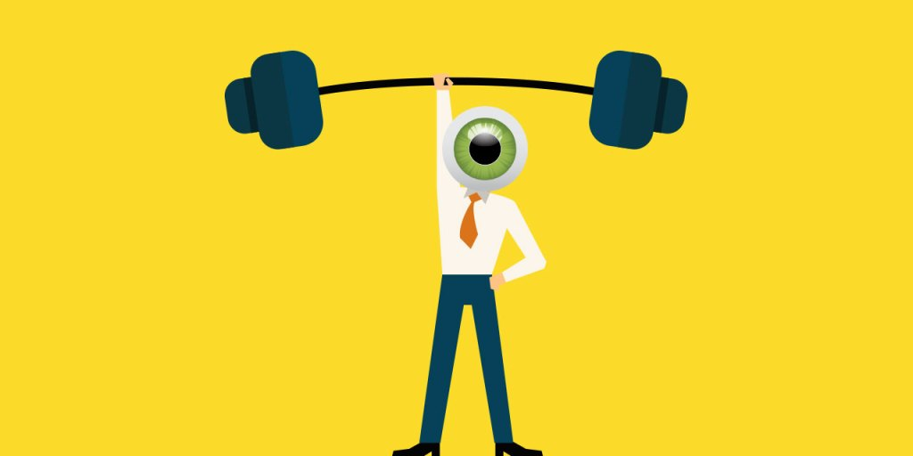 animated person lifting weights with one hand